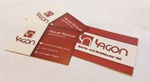 Visitenkarten für Lagon