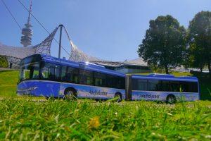 Watzinger Linienbus im Olympiapark