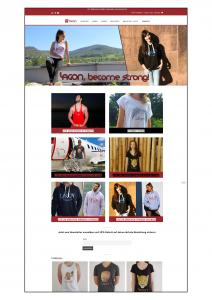 Homepage für Lagon