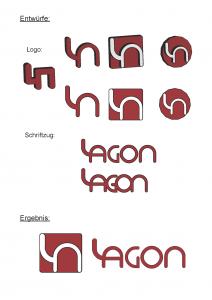 Logoentwurf und Ergebnis für Lagon