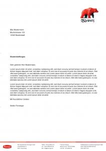 Penninger Bärwurz Briefbogen